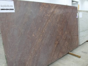 Quartzite Slab Brown Cabernet