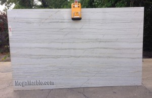Quartzite Slab White Macaubas