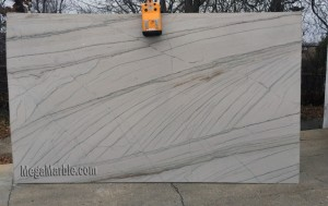 Quartzite Slab White Macaubas Polished Random