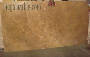 Travertine Noce Marble Slab M